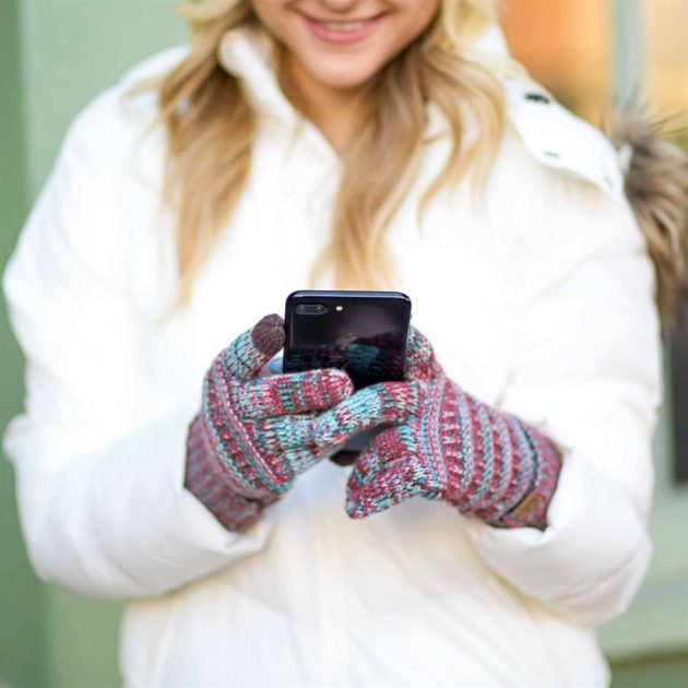 Get Popular CC Touchscreen Compatible Gloves for just $9.99!