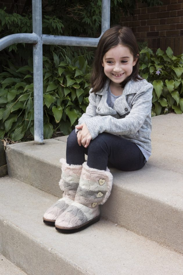 Get MUK LUKS Girl's Malena Boots for just $17.99 shipped!