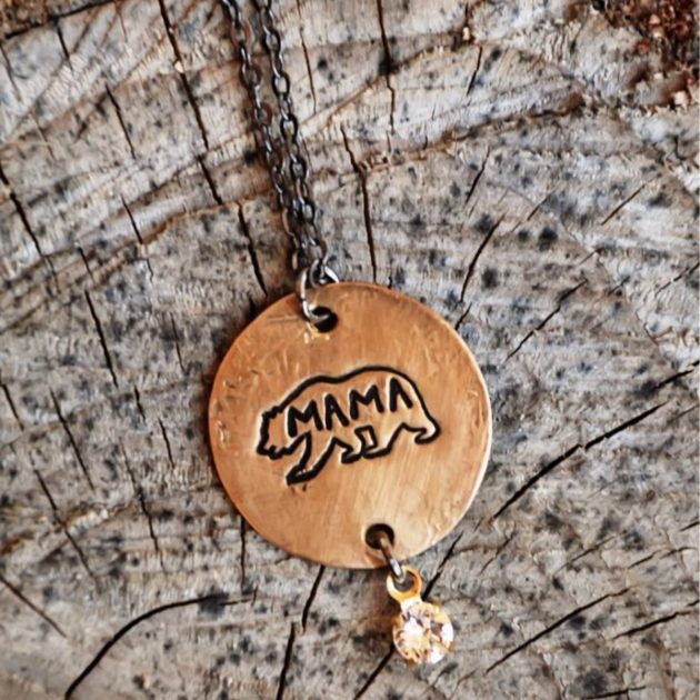 Get a Mama Bear Necklace for just $9.99!