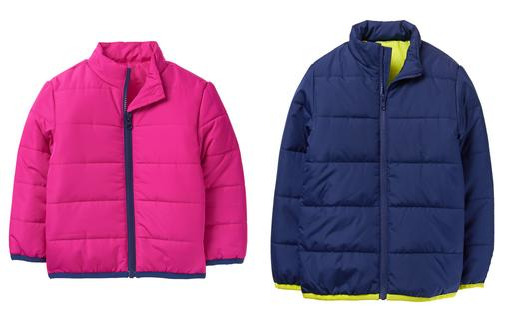 Crazy 8: Get Kids' Puffer Jackets for just $15 shipped!
