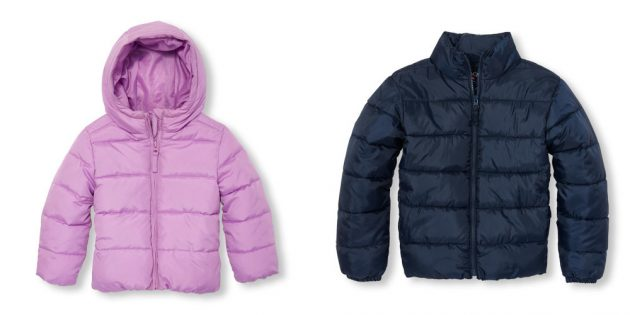 The Children's Place: Kids Puffer Jackets only $14.99 shipped!