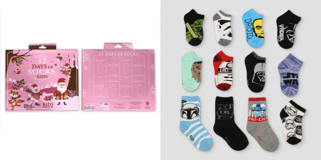 Target.com: 12 Days Of Socks Sets just $15 shipped!