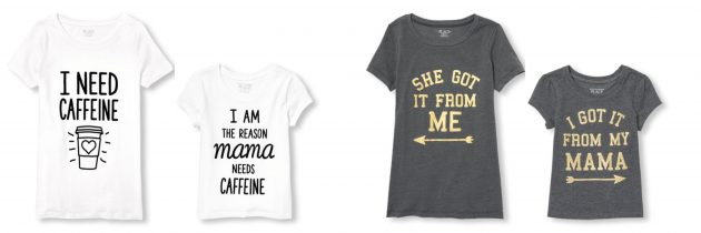 The Children's Place: Get Matching Family Graphic Tees as low as $3.99 shipped!
