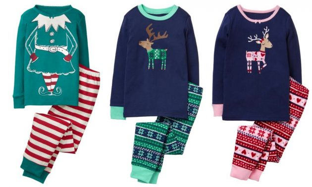 Gymboree: Get Kid's Holiday Pajamas for just $8 each + Free Shipping!