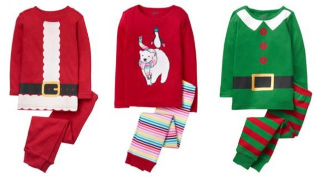 Crazy 8: Get Kids Holiday Pajamas for just $8.88 shipped!