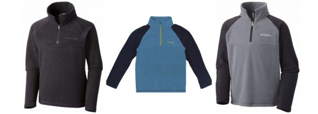 Get a Boy's Columbia Glacial II Half Zip Fleece Pullover for just $14.99 shipped!