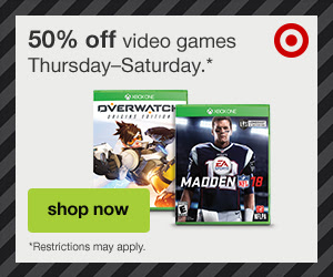 Target.com: Up to 50% off Video Games!
