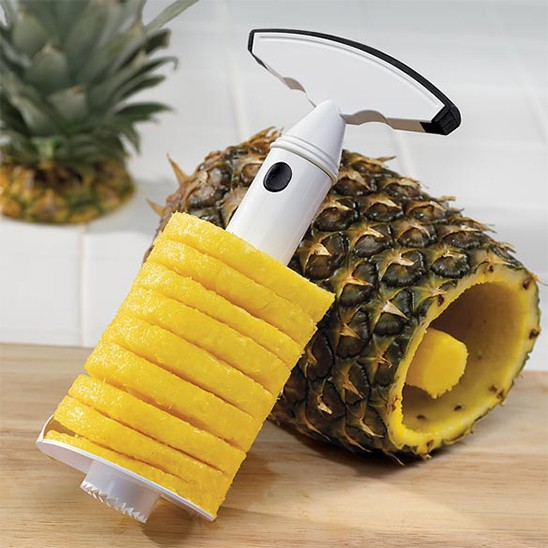 Get a Handy Heavy Duty Pineapple Corer and Slicer for only $3.99 shipped!