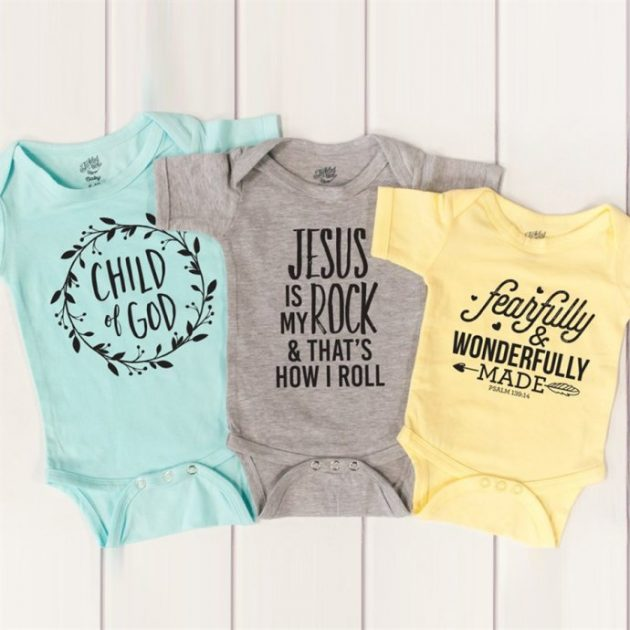 Get a Inspirational Baby Bodysuit for just $9.99!