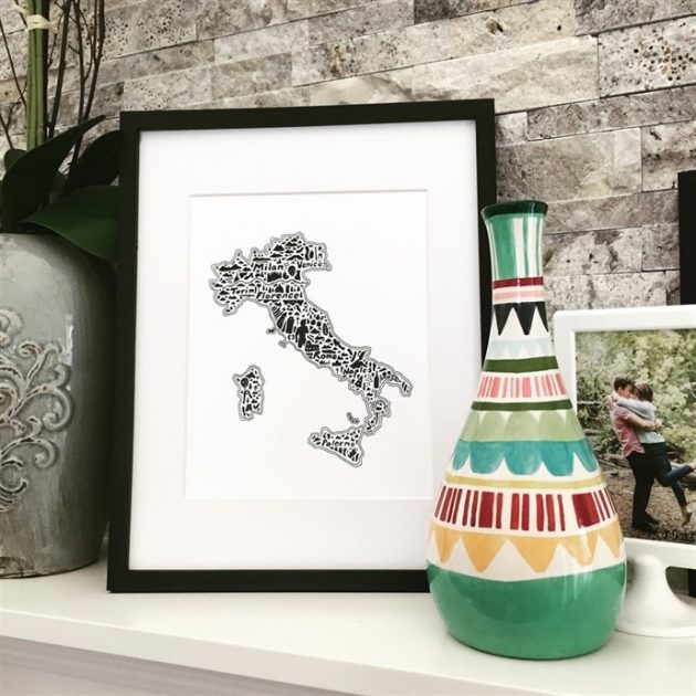 Get Intricate Map Art Prints for just $7.99 each!