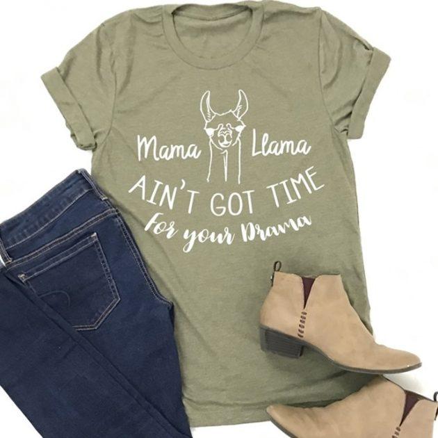 Get a Mama Llama Tee for just $13.99!