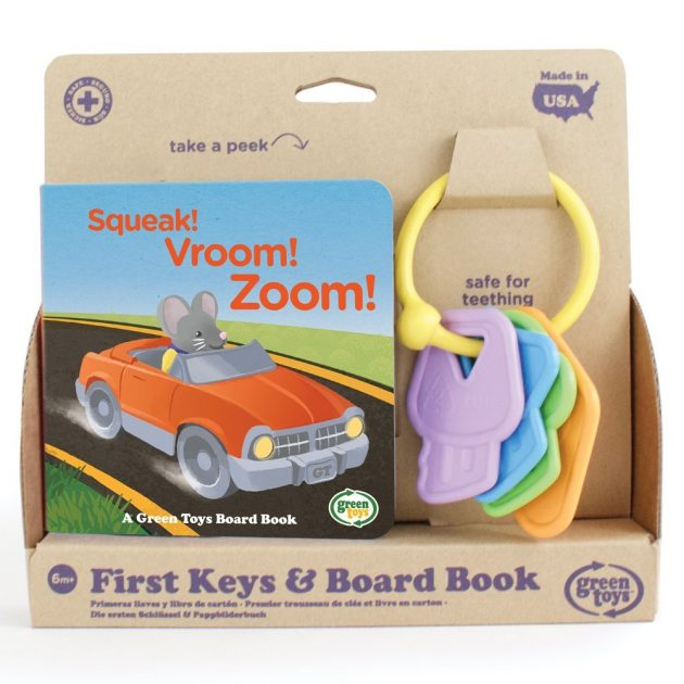 Amazon.com: Green Toys First Keys & Board Book only $5.49!