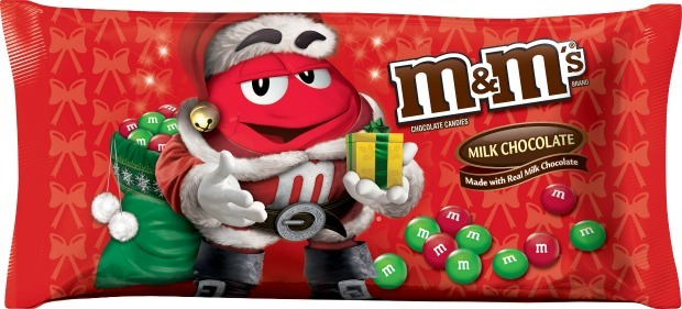 Target: Holiday M&M's only $1.25!