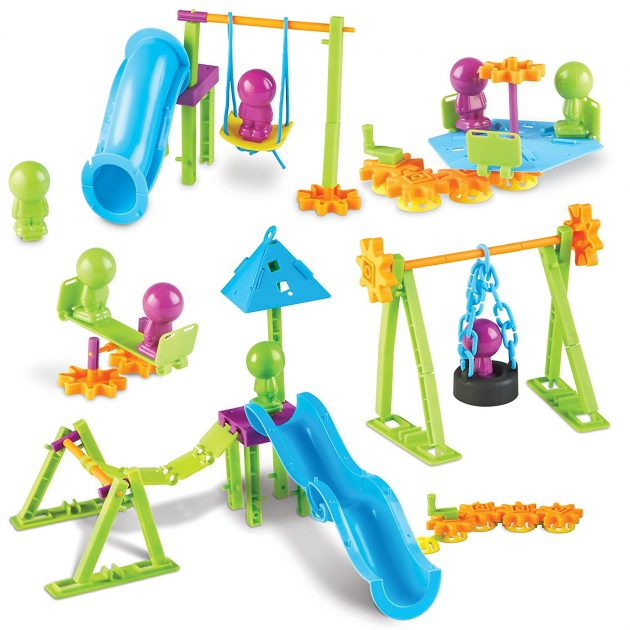 Amazon.com: Learning Resources Playground Engineering & Design STEM Set, 104 Pieces only $13.99!