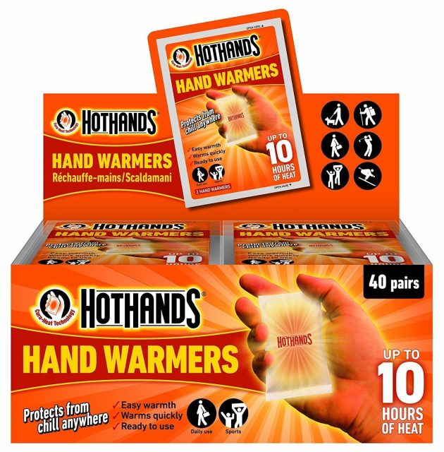 Amazon.com: HotHands Hand Warmers Value Pack (40 Pair) only $14.99!