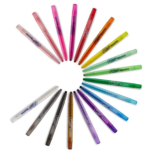 Amazon.com: Mr. Sketch Scented Twistable Crayons, 18-Count only $5.64!