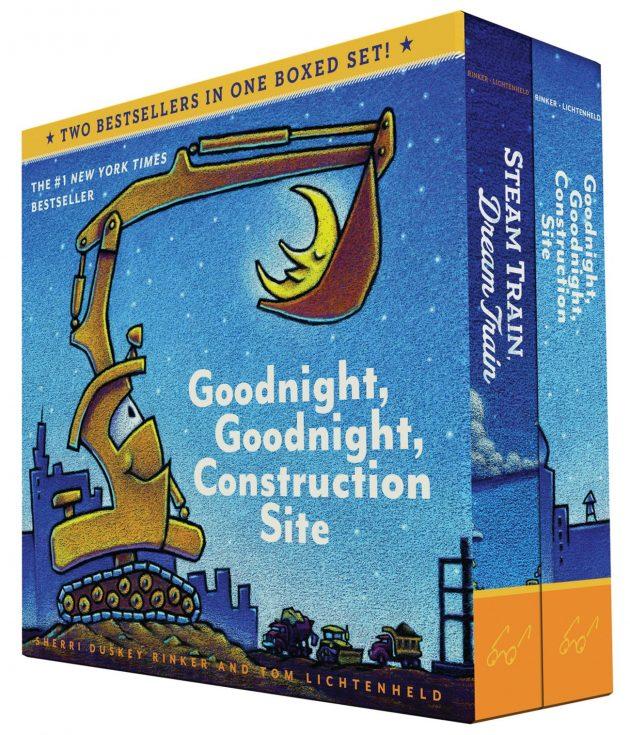 Amazon.com: Goodnight, Goodnight, Construction Site and Steam Train, Dream Train Board Books Boxed Set Board Book only $8.39!