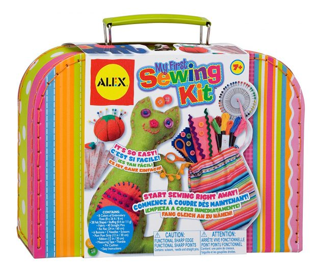 Amazon.com: ALEX Toys Craft My First Sewing Kit only $13.99!