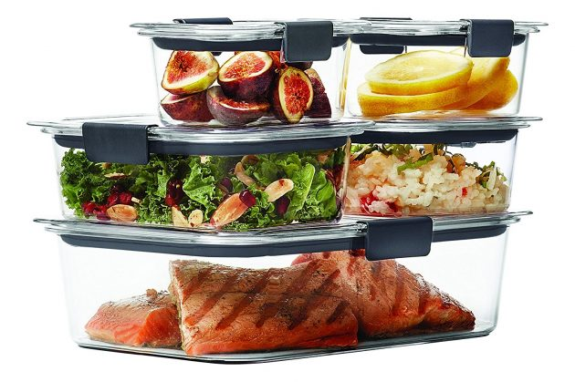 Amazon.com: Rubbermaid Brilliance Food Storage Container, 10-Piece Set only $11.39!