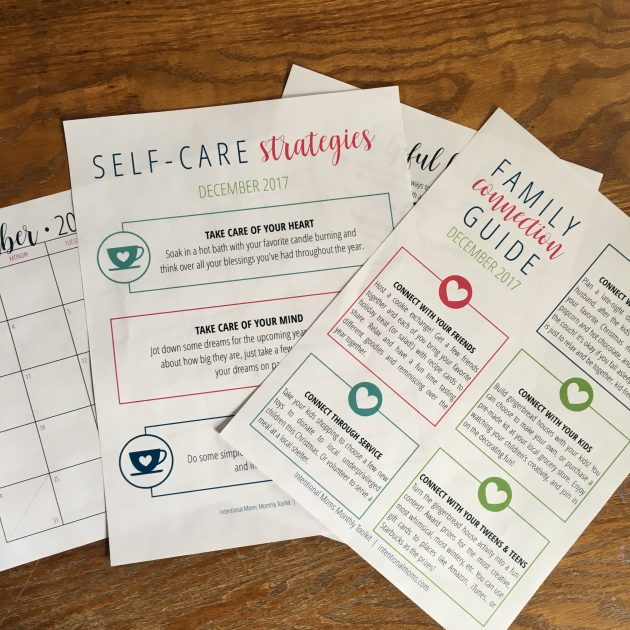 Get 25 off the intentional moms toolkit membership just 243 per december self care strategies family connection guide printable calendar and additional resources to help you remember to prioritize the people that fandeluxe Image collections