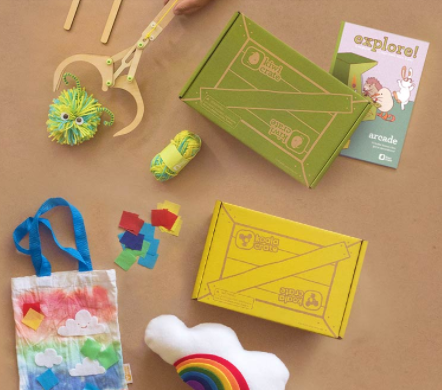 Kiwico subscription box for kids