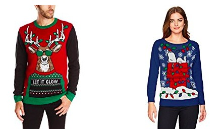 Amazon.com: Up to 50% Off Ugly Holiday Sweaters!