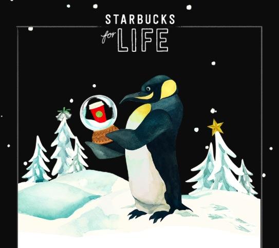 Starbucks for Life Instant Win Game (1 million winners!)