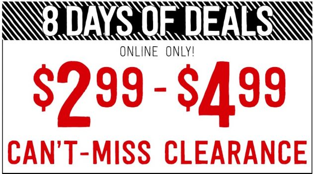 *HOT* Crazy 8: $2.99-$4.99 Clearance Sale + Free Shipping!