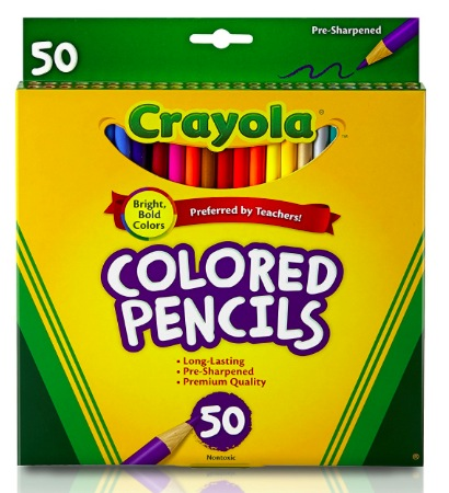 Amazon.com: Crayola Colored Pencils, 50 Count only $3.97!