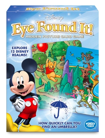 Amazon.com: World of Disney Eye Found It Card Game only $4.79!