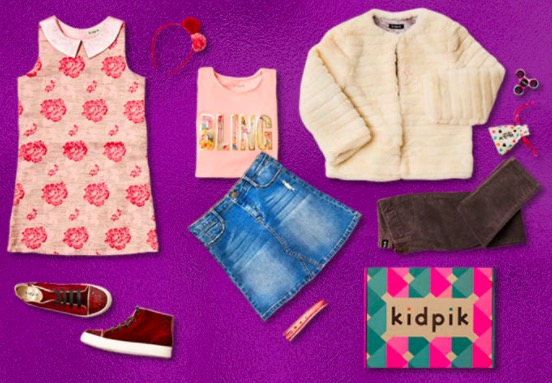 Kidpik monthly subscription boxes for kids