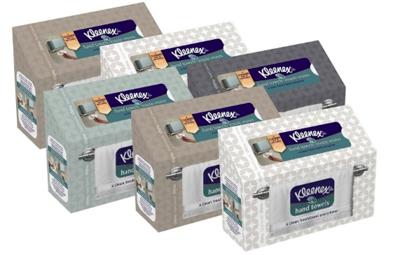 Amazon.com: Kleenex Hand Towels (6 pack) only $12.82 shipped!