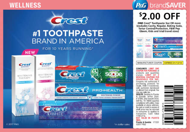 Crest Toothpaste Coupon Free Crest At Kroger Money Saving Mom Money Saving Mom