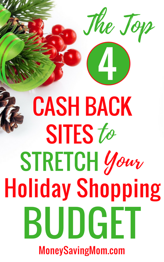 These TOP cash back sites will help you stretch your Christmas budget when shopping online!