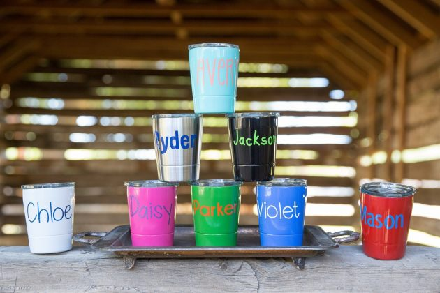 Get a Personalized Kids Mini Tumbler for just $12.99!