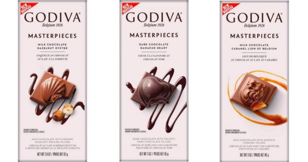 Target: Godiva Masterpieces Chocolate Bar only $0.37!