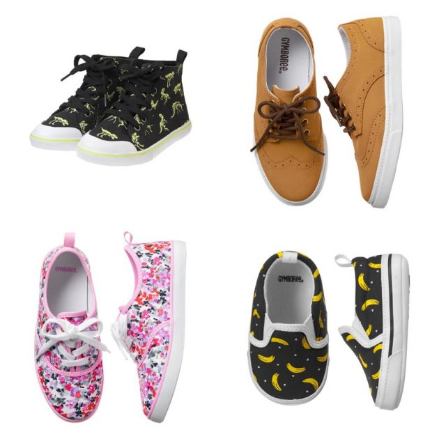 *HOT* Gymboree: Get kids shoes as low as $3.99 + free shipping!