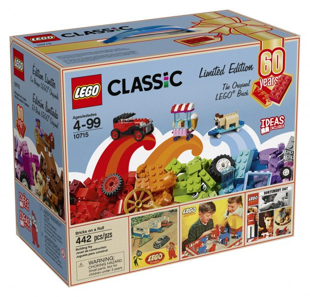 Walmart.com: LEGO Classic Bricks on a Roll 60th Anniversary Limited Edition only $29.97!