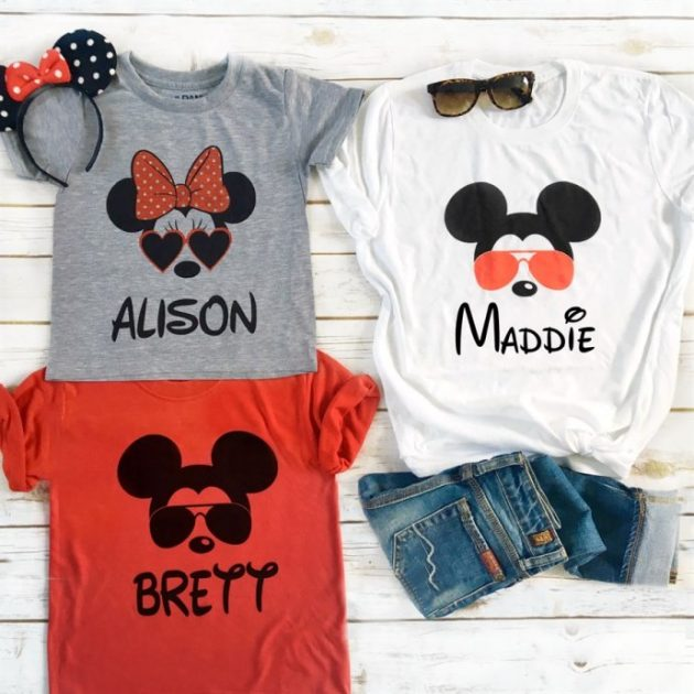 Get Family Character Tees for just $13.99!