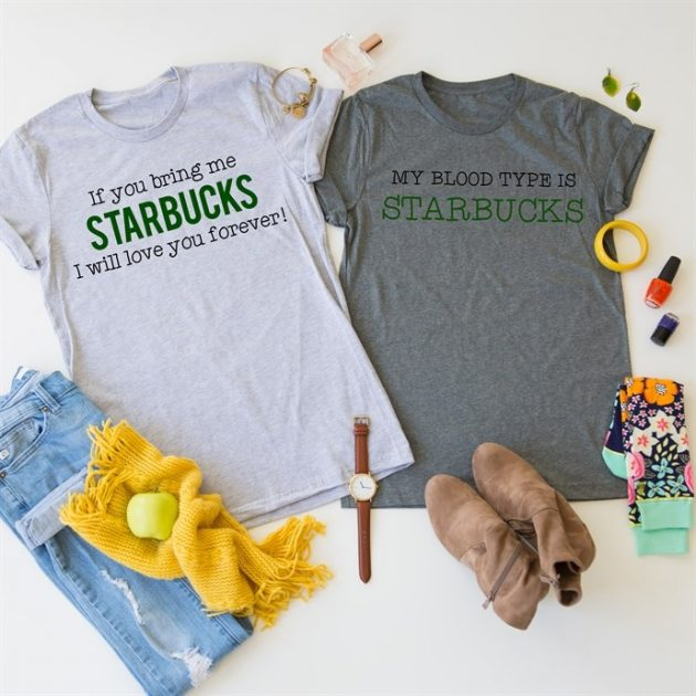 Get a Starbucks Tee for only $13.99!