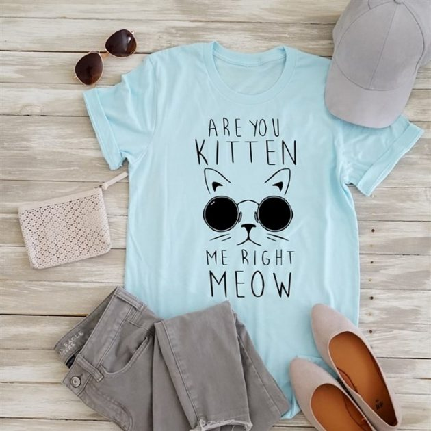 Get a Check Meowt Tee for just $13.99!