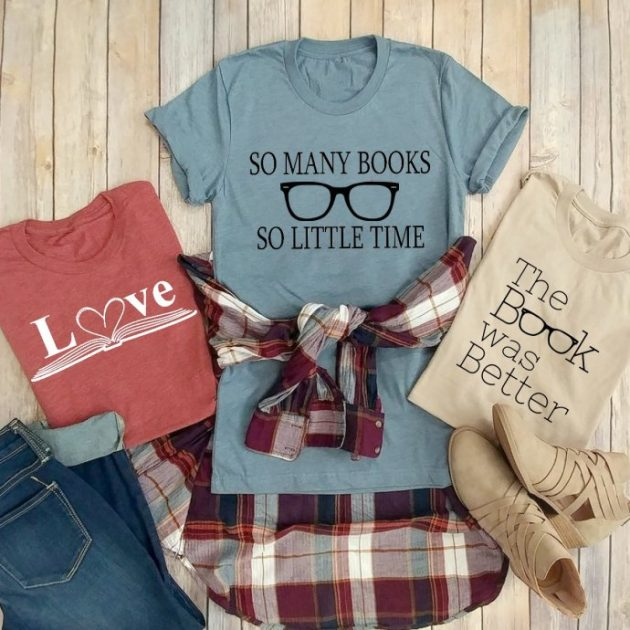 Get a Book Lover Tee for just $13.99!