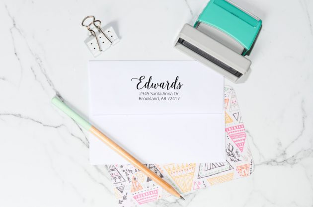 Get Personalized Self Inking Address Stamps for just $17.99!