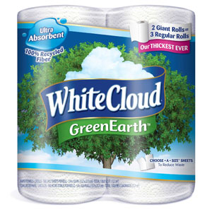 New $3/1 White Cloud Printable Coupon = Paper Towels only $0.12 at Walmart!