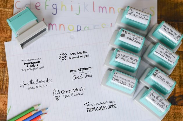 Get Self Inking Teacher Stamps for only $10.99!