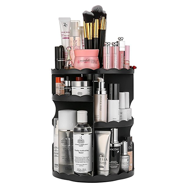 Get a 360-Degree Rotating Makeup Organizer for just $13.99!