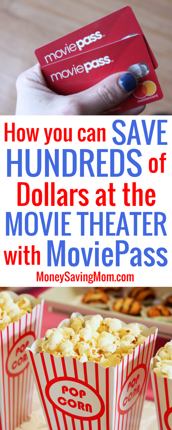 MoviePass is a frugal movie lover's DREAM come true! It'll save you HUNDREDS of dollars on movies at the theater!