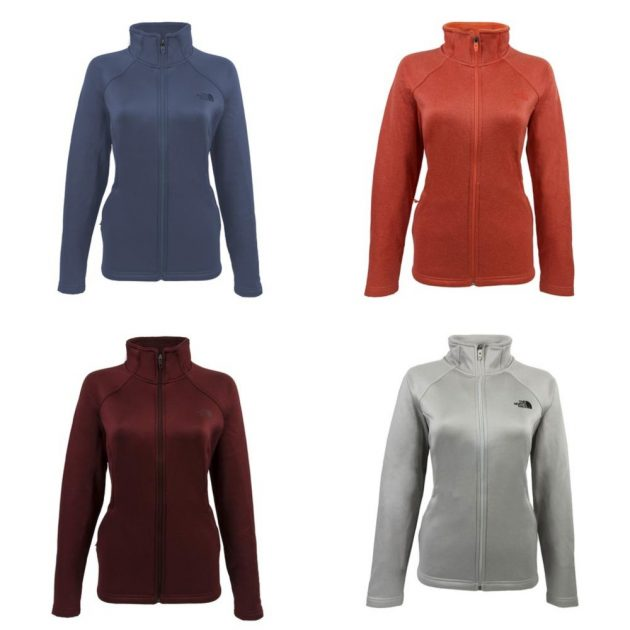 8282b647b Get a North Face Women's Agave Full Zip Jacket for just $47 shipped ...