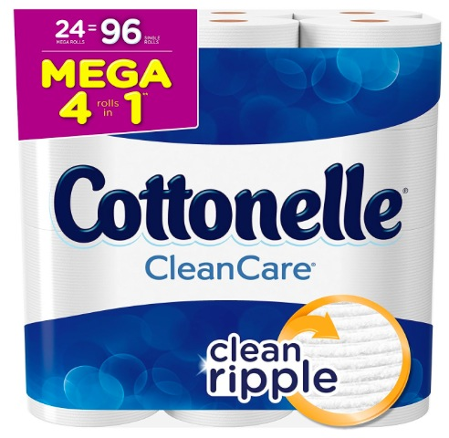 Amazon.com: Cottonelle Clean Care Toilet Paper only $0.37 per double roll, shipped!