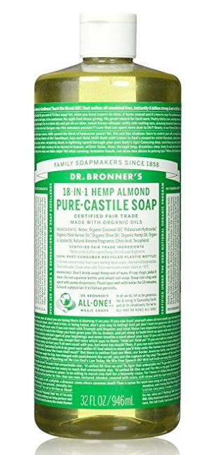 Amazon.com: Dr. Bronner's Pure-Castile Liquid Soap (32 oz) only $10.67